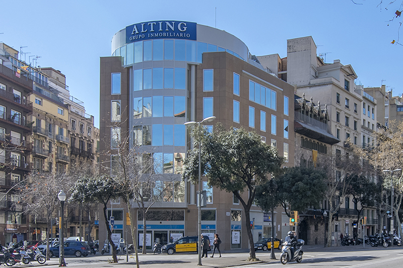 Edificio de oficinas Diagonal 371 - WeWork - Alting blog