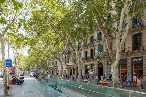 Passeig de Gràcia nueva normalidad - Alting