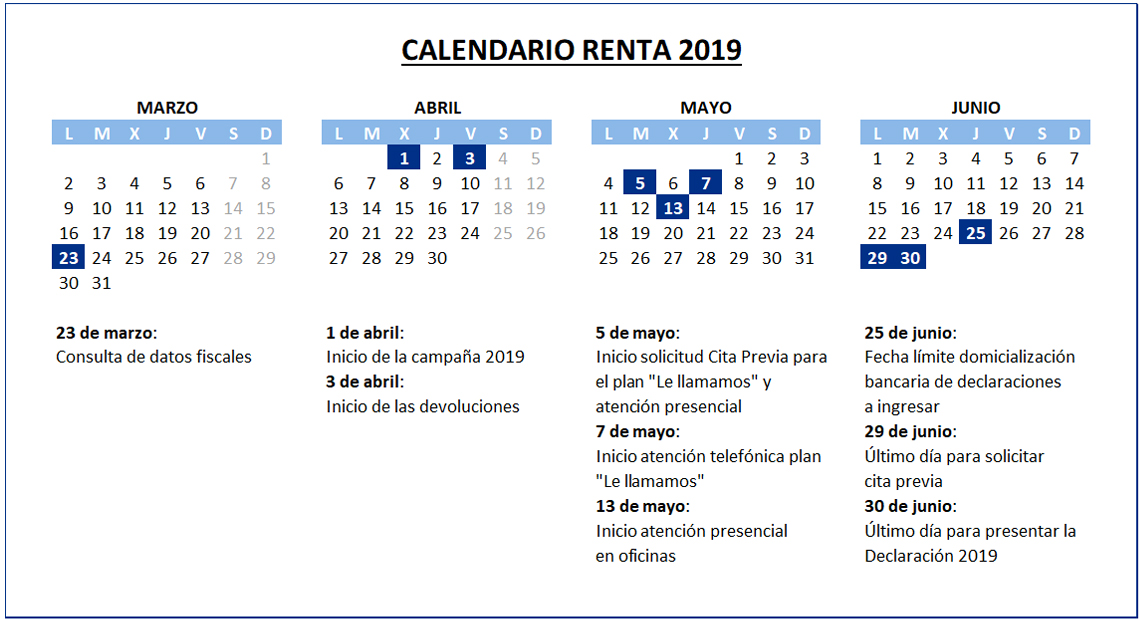 calendario-renta-2019