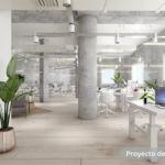 Alting Inversiones - Edificio de oficinas Aragó, 495 - Render 1