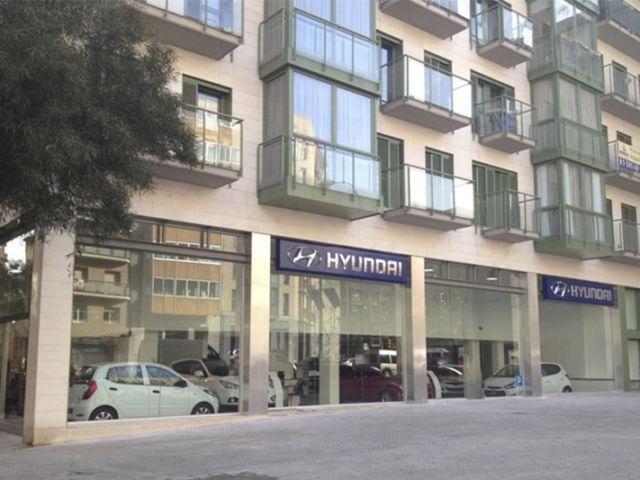 Aragó 562-566 local alquiler Alting Hyundai