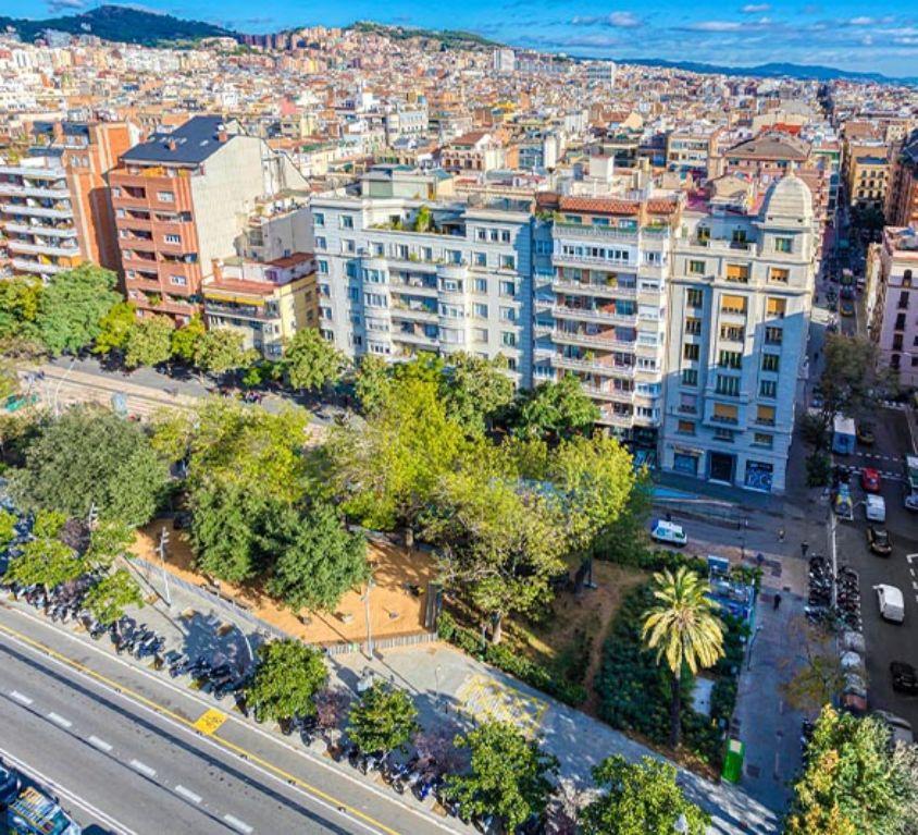 Plaza Gal·la Placidia Barcelona - Alting