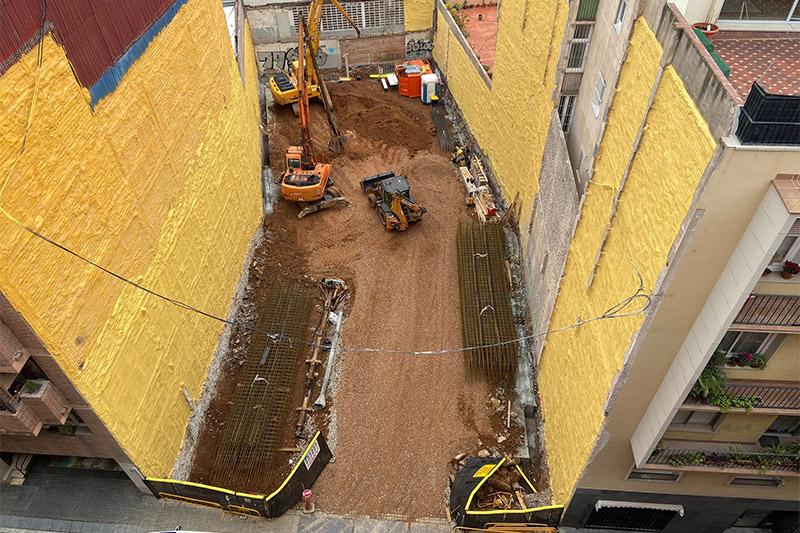 Edificio viviendas Alfons XII, 10-12 - Obras abril 2021