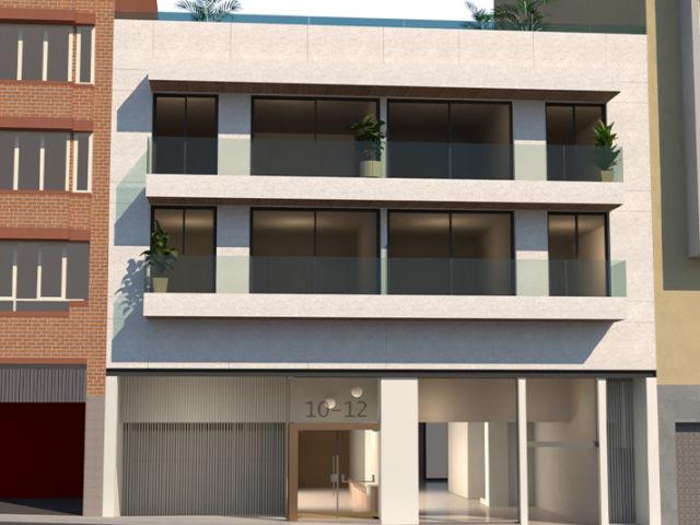 Edificio viviendas - Fachada Alfons XII, 10-12 Render