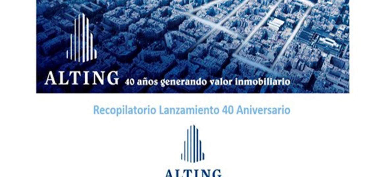 Alting Grupo Inmobiliario 40 aniversario blog